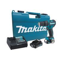 Makita HP332DSAE Aku LI-ION vŕtací skrutkovač s príklepom 10,8V, 2,0Ah