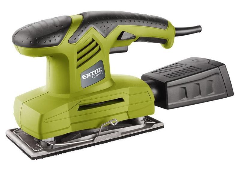 Extol Craft Brúska vibračná 200 W, 187x90mm, hliníková základňa 407115