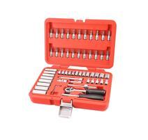 """Extol Premium Sada nástrčných a zástrčných kľúčov, 1/4"""", 57-dielna (8818101)"""
