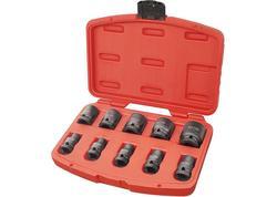 """Extol Premium Rázové nástrčné kľúče, 1/2"""", 10ks (80818131)"""