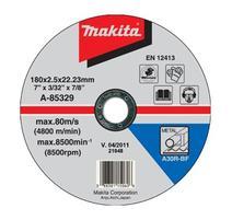 Makita A-85329 Rezný kotúč na železo 180x2.5x22 (plochý)