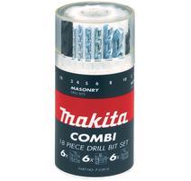 Makita P-23818 18-dielna sada vrtákov
