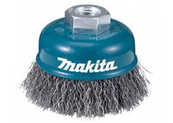 Makita D-24094 Miskovitá kefa z oceľového drôtu - vlnitý drôt 75mm
