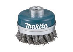 Makita D-24153 Kartáč z oceľového drôtu - spletaný drôt 60mm