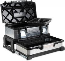 Kovoplastový box so zásuvkou galvanizovaný 1-95-830
