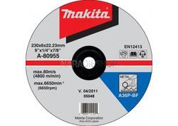Makita A-80955 Brúsny kotúč na kov Ø230 x 6 x 22 mm