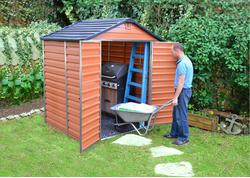 Palram Skylight 6x5 Záhradný domček (hnedý)