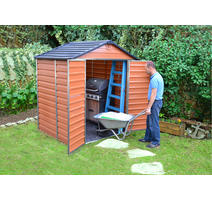 Palram Skylight 6x5 hnedý/záhradný domček