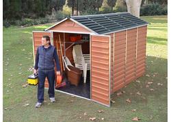 Palram Skylight 6x10 Záhradný domček (hnedý)