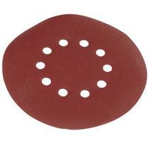 Scheppach sada okrúhlych brúsnych papierov zrnitosť 80 pre DS 210 / DS 930 / DS 920 (10 ks)/