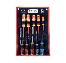 Extol Premium 53088 Sada skrutkovačov magnetických 12-dielna sada