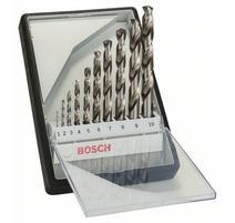 Bosch 2607010535 10-dielna súprava vrtákov do kovu Robust Line HSS-G, 135°