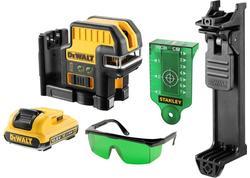DeWALT DCE0825D1G Krížový zelený a päťbodový laser