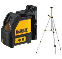 DeWALT DW088KTRI Samonivelačný krížový laser so statívom