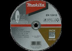 Makita B-12267 Rezný kotúč na nehrdzavejúcu oceľ 180x1,6x22 mm