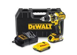 DeWALT DCD795D2 Príklepová vŕtačka 18V, 2 x 2,0 Ah bezuhlíkový stroj