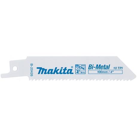 Makita B-20426 Bi-metal pílový plátok na železo (3-12mm) a drevo s klincami (10-50mm), 5ks