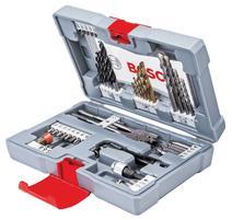Bosch 2608P00234 76-dielna súprava vrtákov a skrutkovacích hrotov Premium X-Line