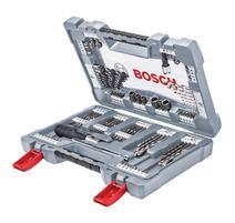 Bosch 2608P00236 105-dielna súprava vrtákov a skrutkovacích hrotov Premium X-Line