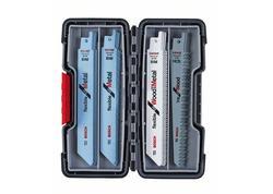 Bosch 2607010902 20-dielna súprava pílových listov do chvostovej píly, Wood and Metal
