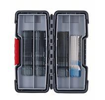 Bosch 2607010904 40-dielna súprava pílových listov do priamočiarej píly, Wood and Metal