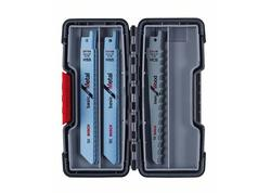 Bosch 2607010901 15-dielna súprava pílových listov do chvostovej píly, Wood and Metal Basic