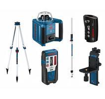 Bosch GRL 300 HV Set Professional Rotačný lasér + BT 170 HD Hliníkový stativ + GR 240 Nivelačná lata 061599405U