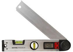 Extol Premium  Vodováha s digitálnym uhlomerom 0°-225°, 305mm 8823501