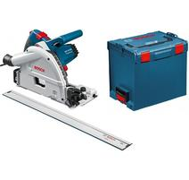 Bosch GKT 55 GCE Professional Ponorná píla 1 400 W + vodiaca koľajnička FSN 1600 + L-BOXX 0601675002