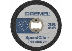 DREMEL® EZ SpeedClic Plastové rezacie kotúče 2615S476JB