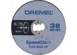 DREMEL® EZ SpeedClic Tenké rezacie kotúče 5 ks 2615S409JB