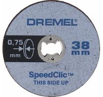 DREMEL® EZ SpeedClic: tenké rezacie kotúče.Dremel