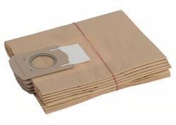 Bosch 2605411061 Papierové filtračné vrecko 5 ks pre GAS 12-30 F, PAS 11-25, PAS 11-25 F