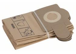 Bosch 2605411150 Papierové filtračné vrecko 5 ks pre PAS 11-21, PAS 12-27, PAS 12-27 F