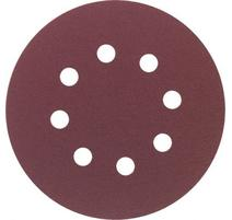 Makita P-43533 Brúsny papier na suchý zips 125 mm, 8 otvorov Z40, 10ks