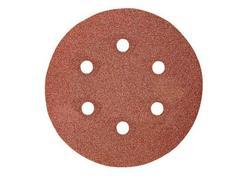 Makita P-37471 Brúsny papier na suchý zips 150 mm, 6 otvorov Z40, 10ks