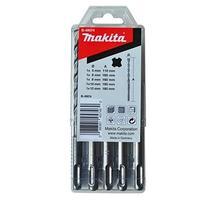Makita B-49074 Príklepové vrtáky SDS-plus S4 5-dielna sada