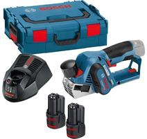 Bosch GHO 12V-20 Professional Aku hoblík 12 V, 2 x 3,0 Ah, L-Boxx 06015A7001