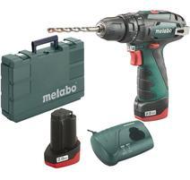 Metabo PowerMaxx SB Aku príklepový skrutkovač 10.8V 2x2.0 Ah v kufríku, 600385500