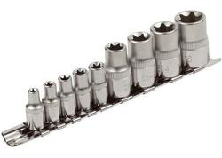 Extol Premium 8818114 Hlavice nástrčné Torx Cr-V, 1/4'' E5-18