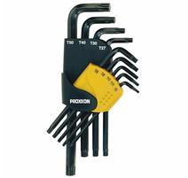 Proxxon 23944 9-dielna sada Torx L kľúčov