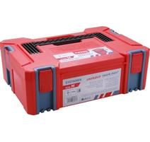 Extol Premium Systainer, veľkosť M, rozmer 443x310x151mm, ABS 8856071