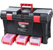 Kufor na náradie plastový so zásuvkami, 525x256x325mm 78814