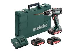 Metabo BS 18 L SET Akumulátorový vŕtací skrutkovač 18 V, 602321540