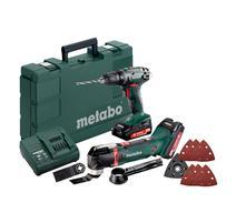 Metabo Combo set Aku vŕtačka so skrutkovačom BS 18 + MT 18 LTX, 685081000
