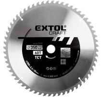 Extol Craft Kotúč pílový s SK plátkami, 350x2,5x30mm, 60Z 19119