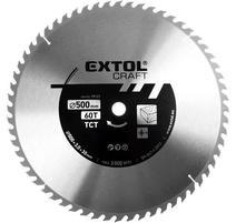 Extol Craft Kotúč pílový s SK plátkami, 500x2,8x30mm, 60Z 19125