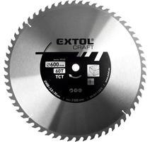 Extol Craft Kotúč pílový s SK plátkami, 600x2,8x30mm, 80Z 19128
