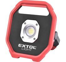 Extol Light Svietidlo nabíjateľné LED, 10W, 1200lm, 6x1,5V AA, IP54 43260