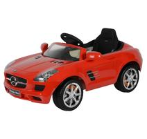 BUDDY TOYS BEC 7111 Elektrické auto Mercedes SLS, červené